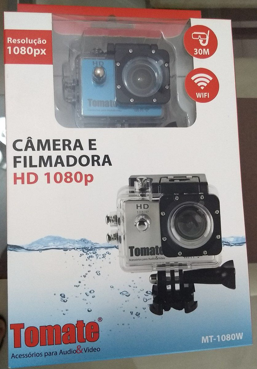 Câmera Filmadora Hd 1080p Wi-fi - Mt-1080w - Tomate