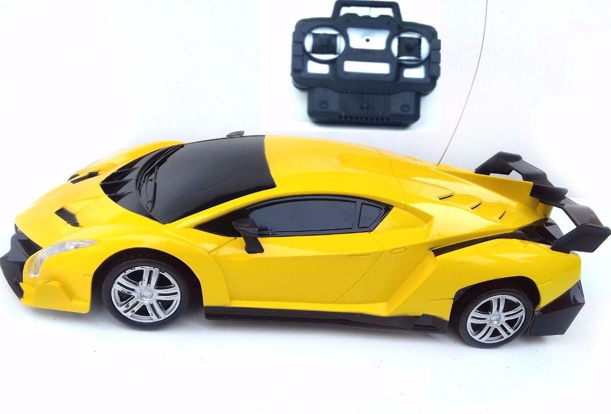 Carrinho Controle Remoto 4 Canais - Estoril Amarelo