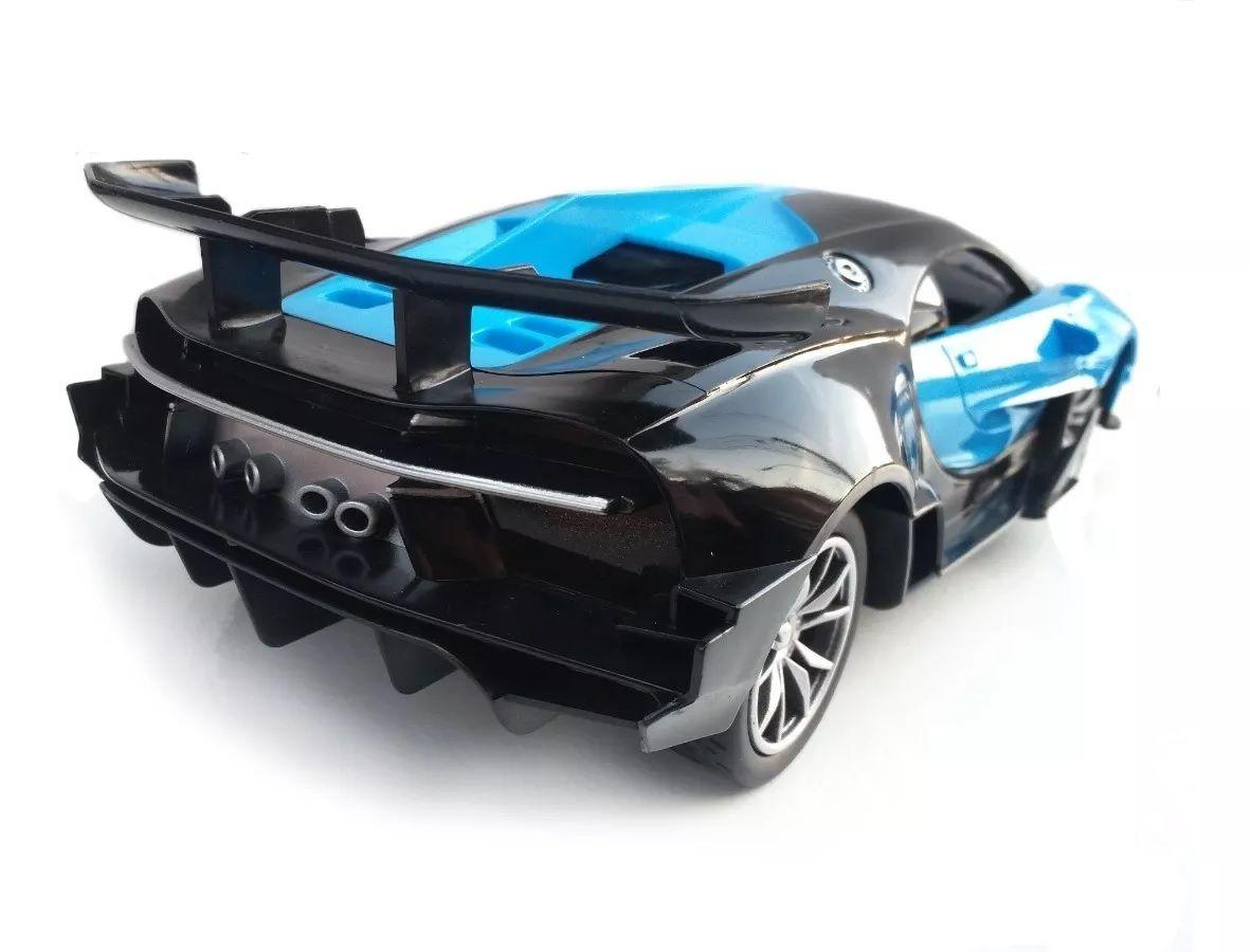 Carrinho Controle Remoto 7 Funções modelo Bugatti Acende Faróis - Art Brink