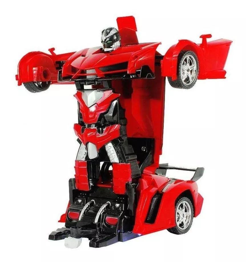 Carrinho de Controle Remoto Robo Car Titanium - VERM