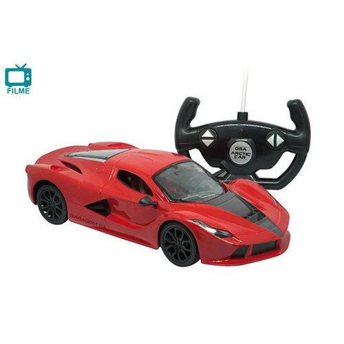 Carro Controle Remoto 7 Funções Arctic Car - Candide vermelho