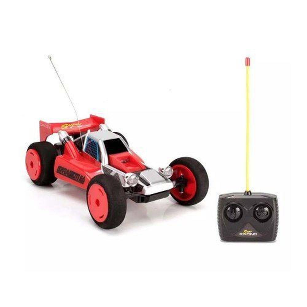 Carro Controle Remoto 7 Funções Super Racing Vermelho - Candide