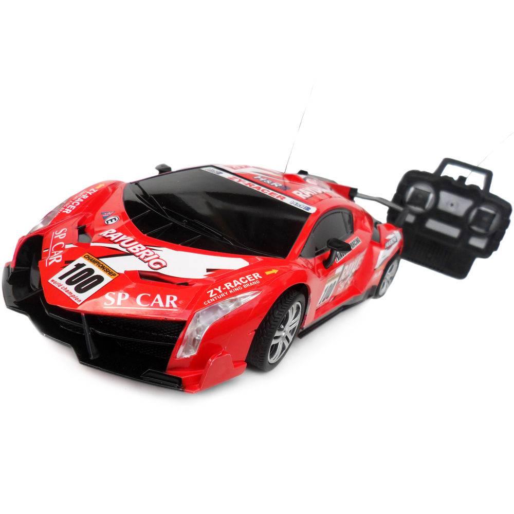 Carro Controle Remoto Monte Carlo Vermelho
