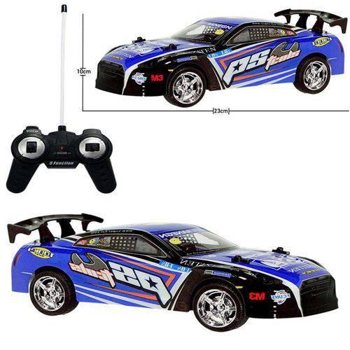 Carro De Controle Remoto Stock Drift Azul 5 Funções