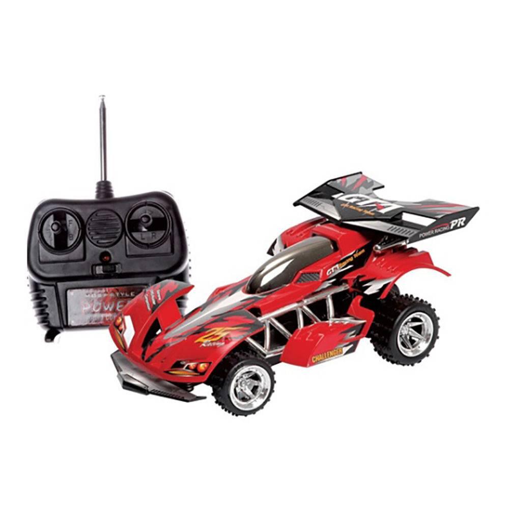 Carro Extreme Rádio Controle Vermelho - 7 Funções 1:12 - Candide