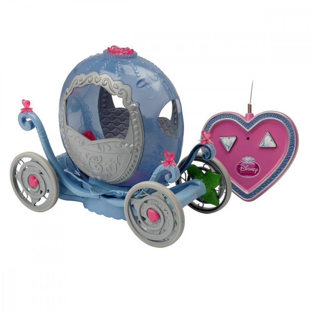 Carruagem De Controle Remoto Disney Princesas 3 Funções Candide