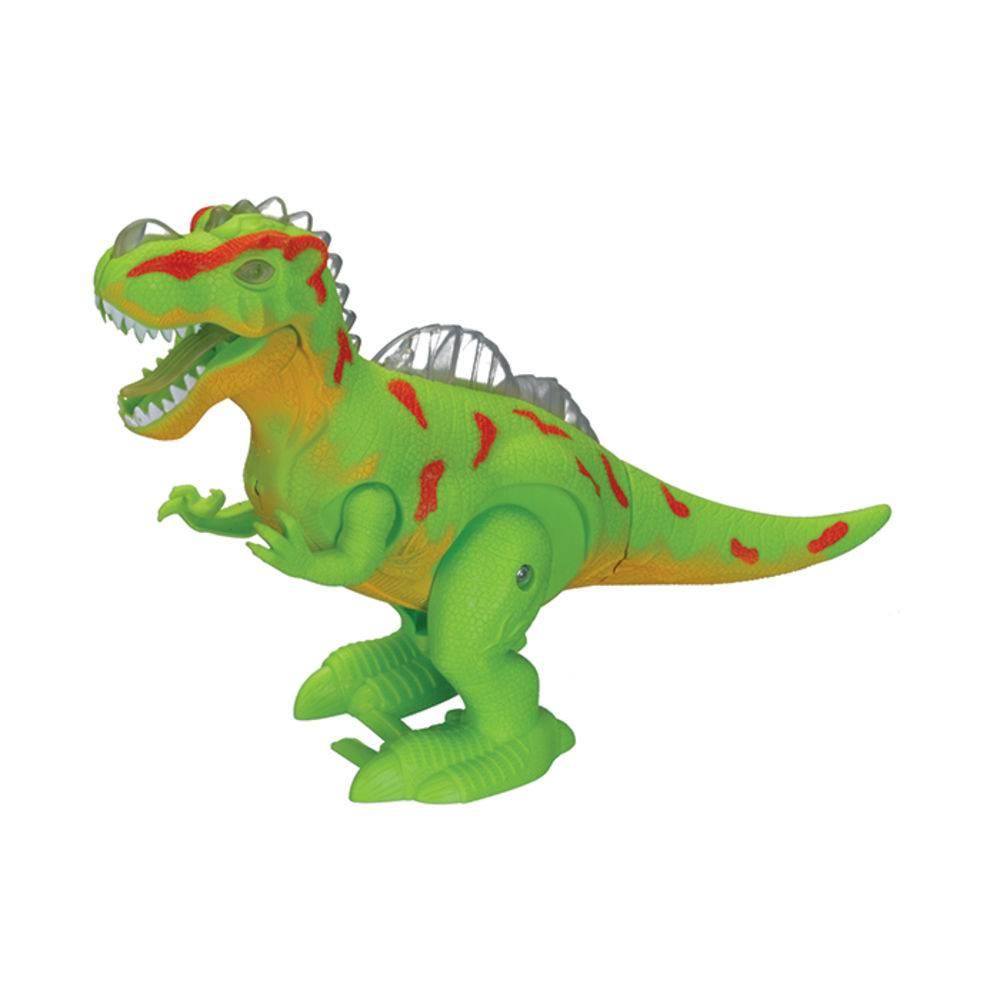 Dinossauro Alossauro com Luz, Som e Movimento 28 cm