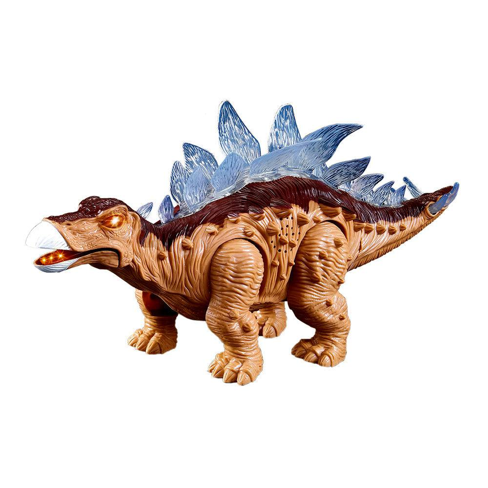 Dinossauro Com Luz Som E Movimento Estegossauro Anda À Pilha (DMT4723)