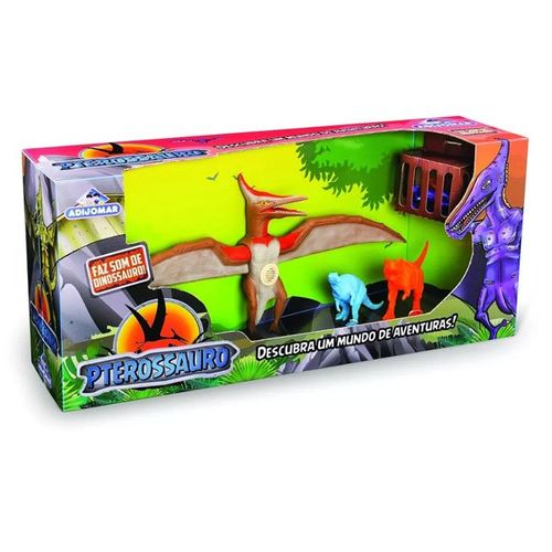 Dinossauro Pterossauro Com Som Adijomar - 0843