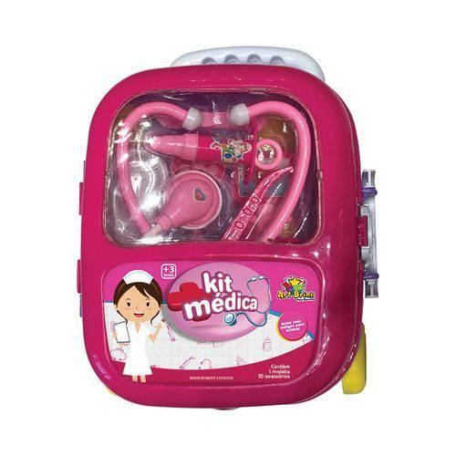 Maleta Médica Girl Infantil Com Acessório Kit Médica (REF: ZFT 153) ROSA
