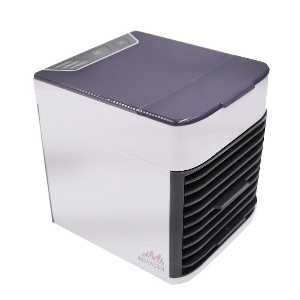 Mini Ar Condicionado Ventilador Original Portátil Luz Colorida