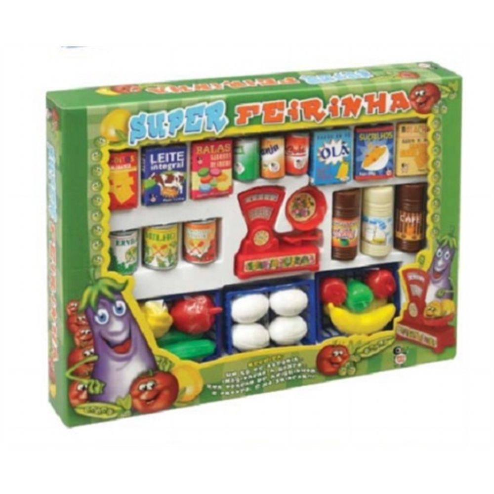 Mini Mercado Infantil Super Feira Feirinha - 33 Peças
