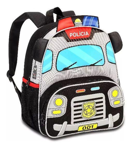 Mochila Infantil Polícia - CP8020