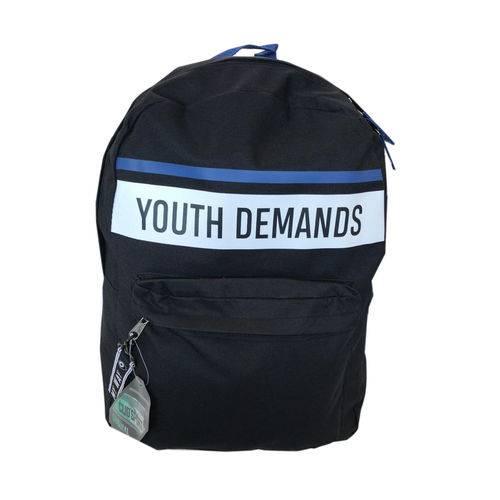 Mochila Youth Demands Preta - Clio (REF: MF 9119)