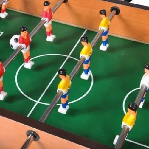 Pebolim Totó Futebol Mesa Portátil - Rio Master