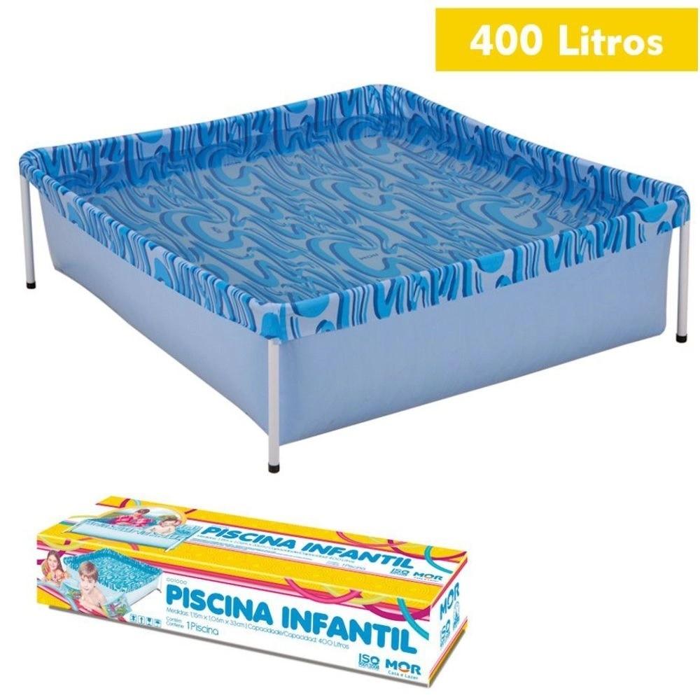 Piscina Infantil 400 Litros - Mor