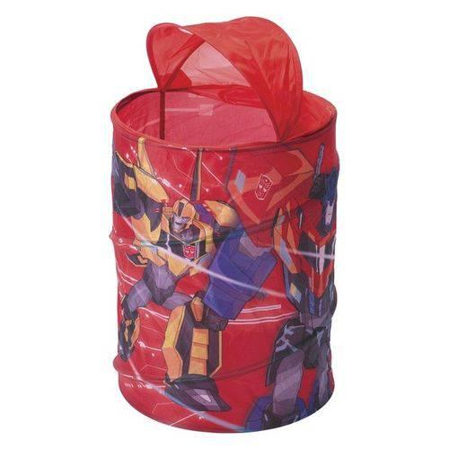 Porta Objetos Infantil Transformers Organizador de Brinquedos (VER)