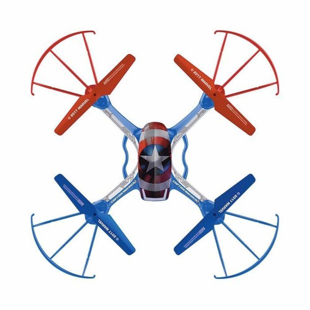 Quadricóptero Drone 4 Canais Recarregável Capitão América