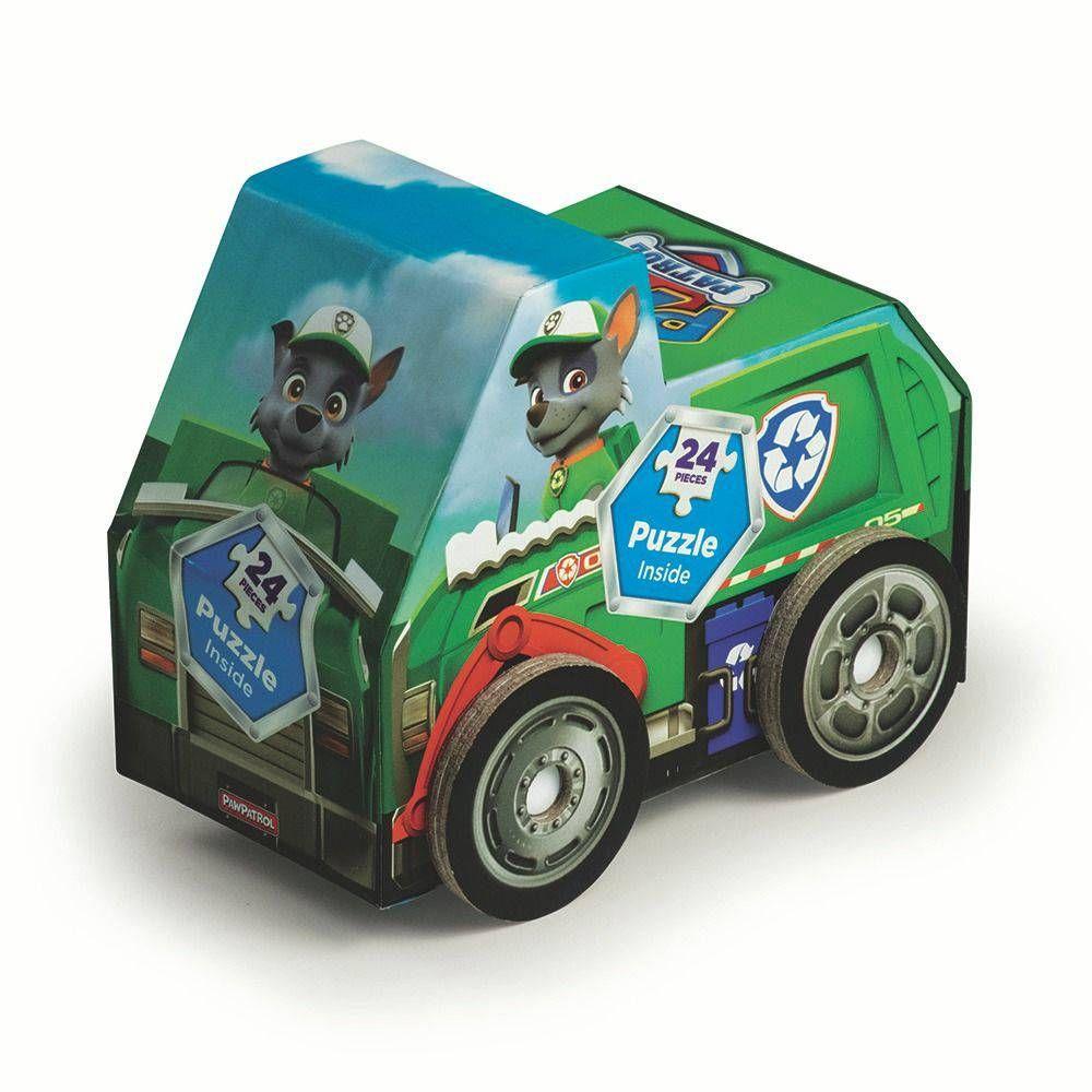 Quebra Cabeça Puzzle Patrulha Canina Carrinho Rocky 03641- Grow