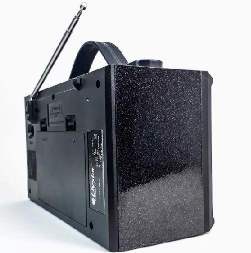 Rádio Livstar Portátil CNN-2096RU Am / Fm / Sw - USB/SD/MMC