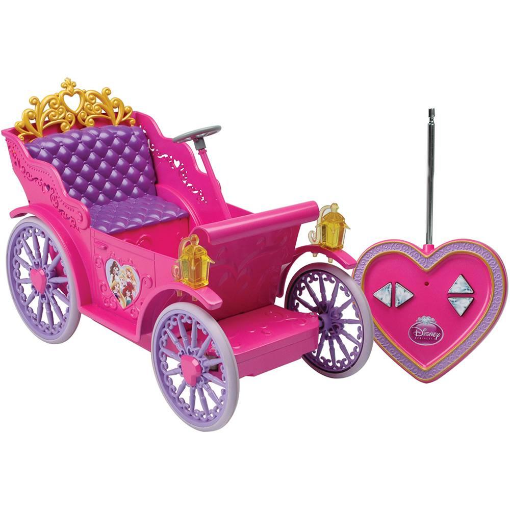 Veiculo com Controle Remoto Carruagem Mágica das Princesas Candide REF 5450