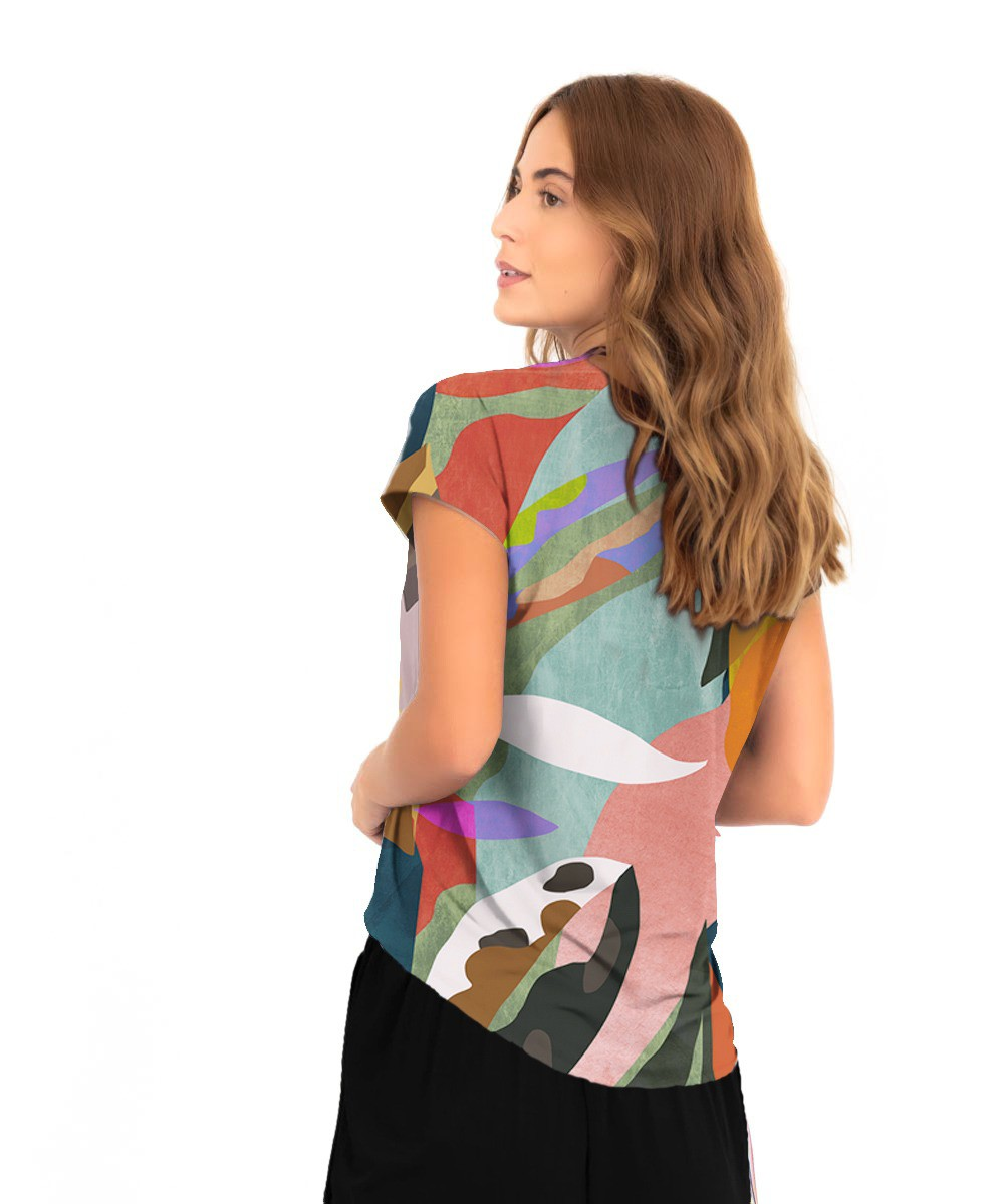 Blusa Eliza - Arte Moderna  - Lalie Lalou