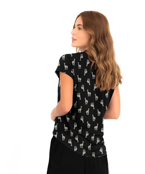 Blusa Eliza - Girafa  - Lalie Lalou