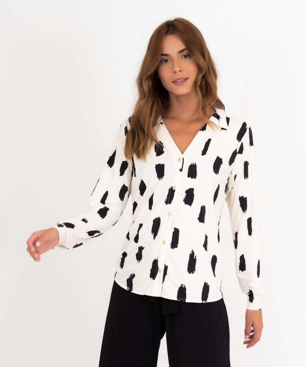 Camisa Heloísa - Pincelada