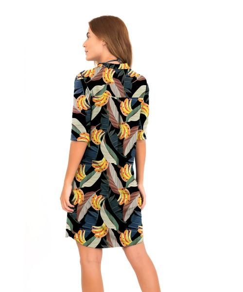 Chemise Naide - Banana Tropical   - Lalie Lalou