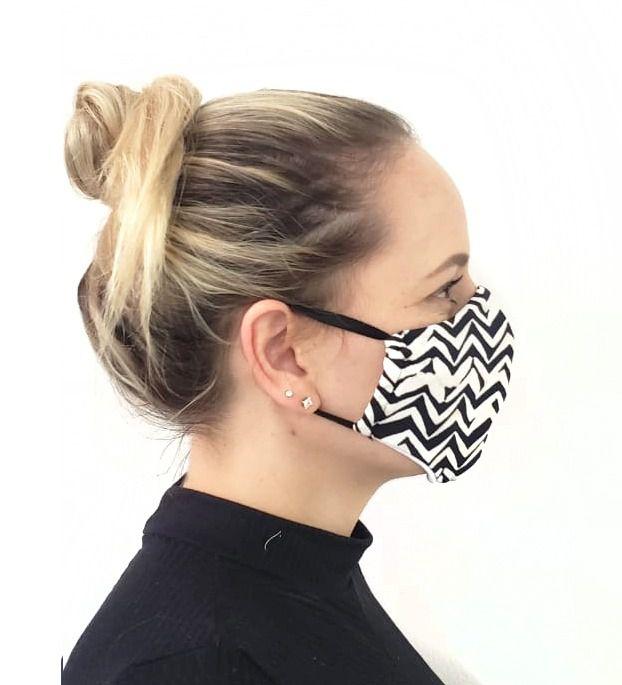 Máscara - Chevron   - Lalie Lalou
