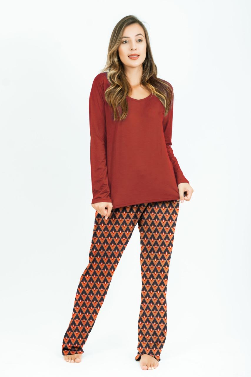 Pijama Fabrícia - Cabanas Grená