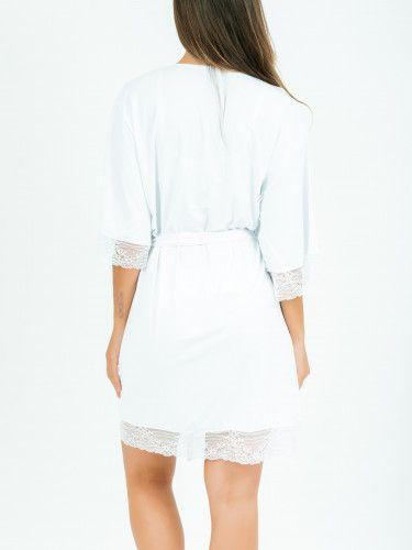 Robe Marisa - Branco  - Lalie Lalou