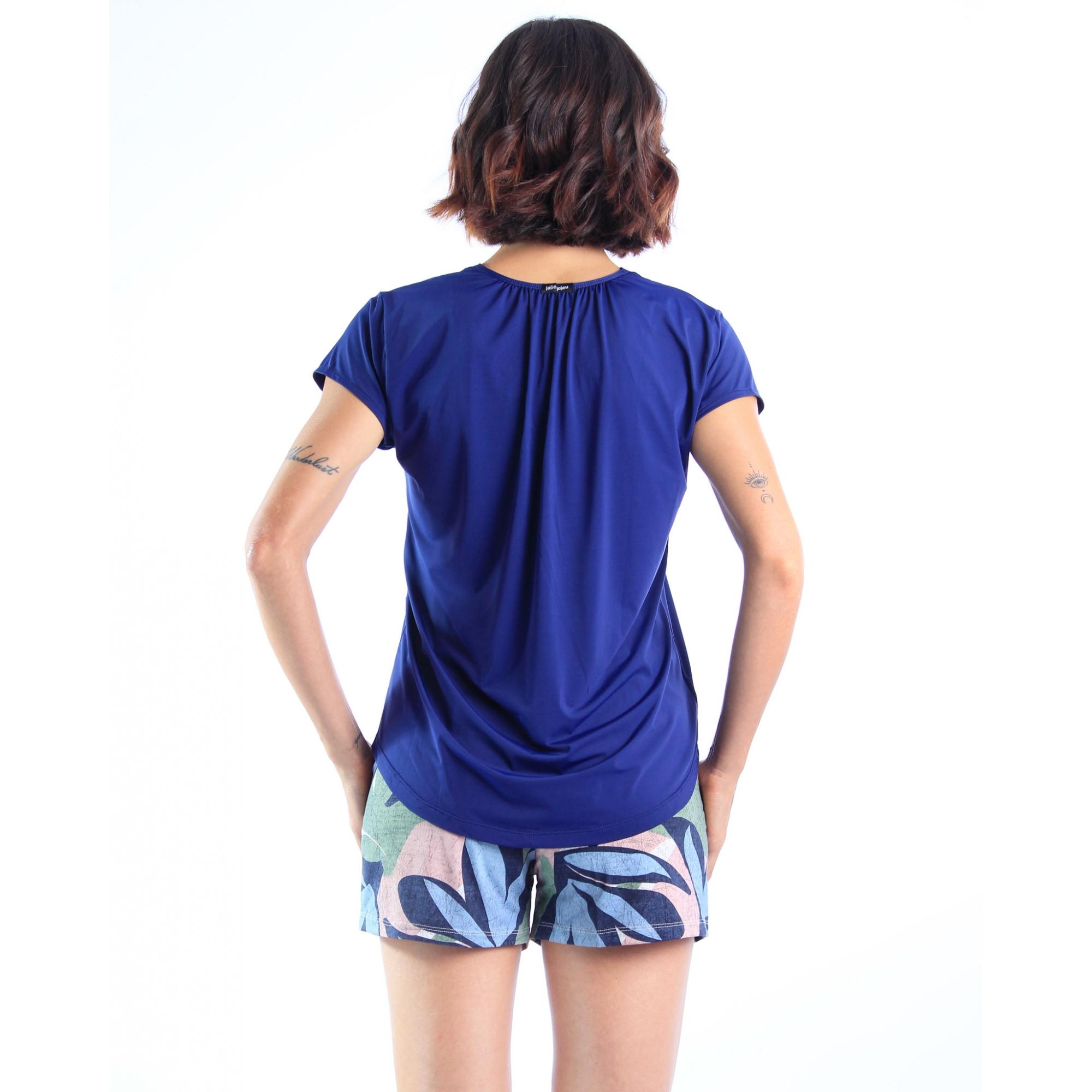 Short Cássia - Dracena Azul  - Lalie Lalou
