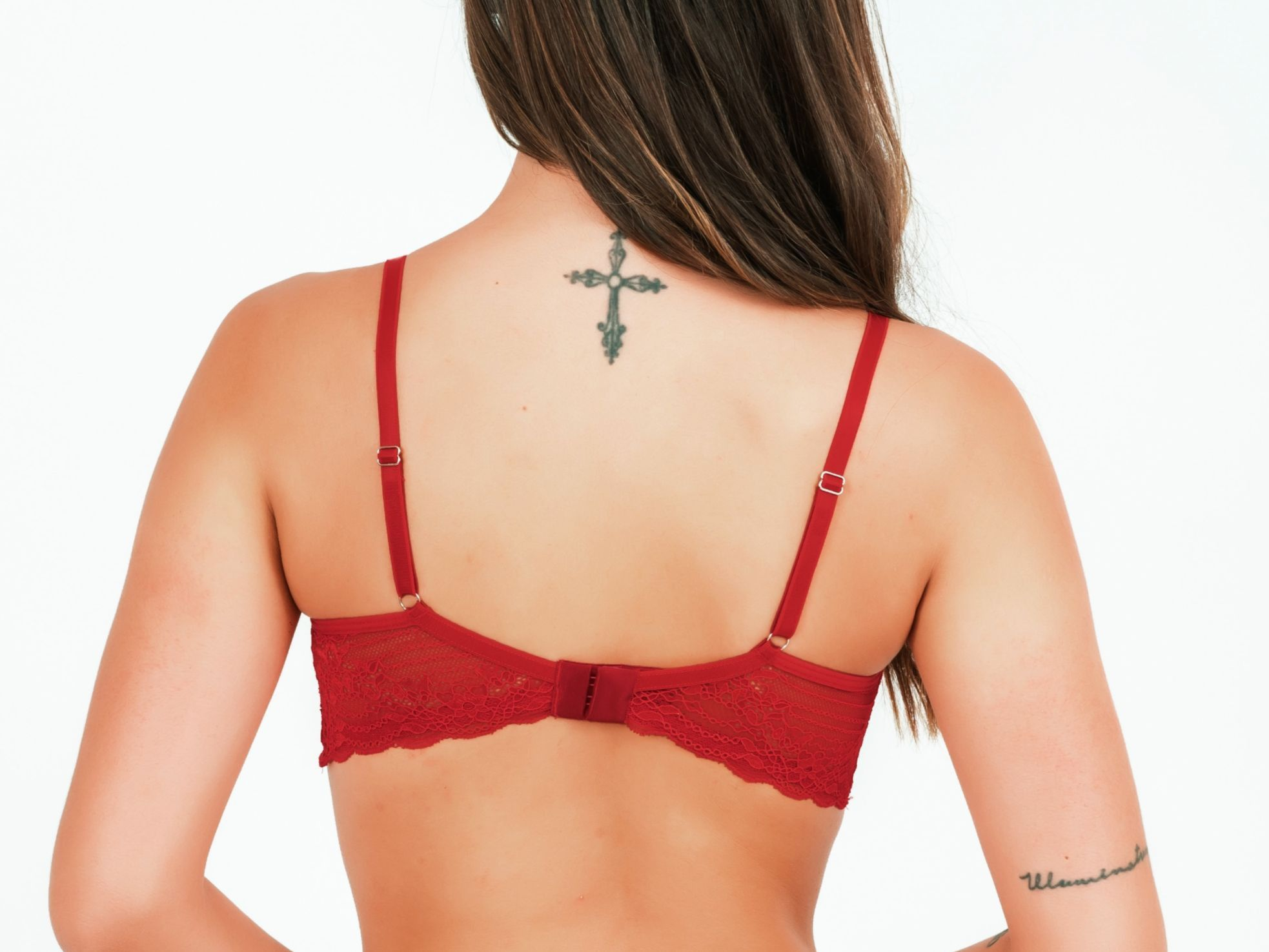 Sutiã Betina Renda - Rubi  - Lalie Lalou