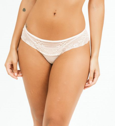 Tanga Tetê - Branco  - Lalie Lalou