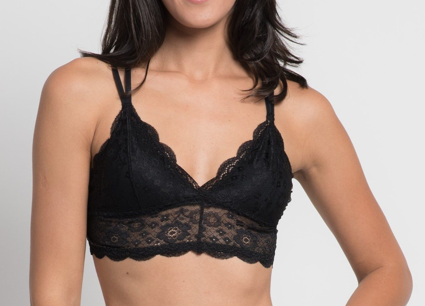Top Beatriz Strappy - Preto