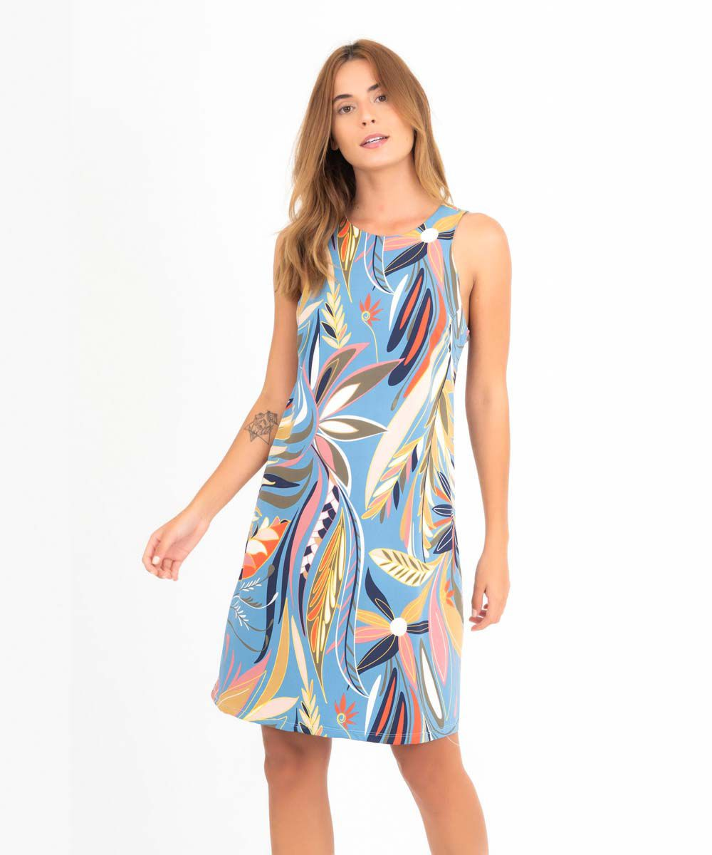 Vestido Clarice - Tropicana