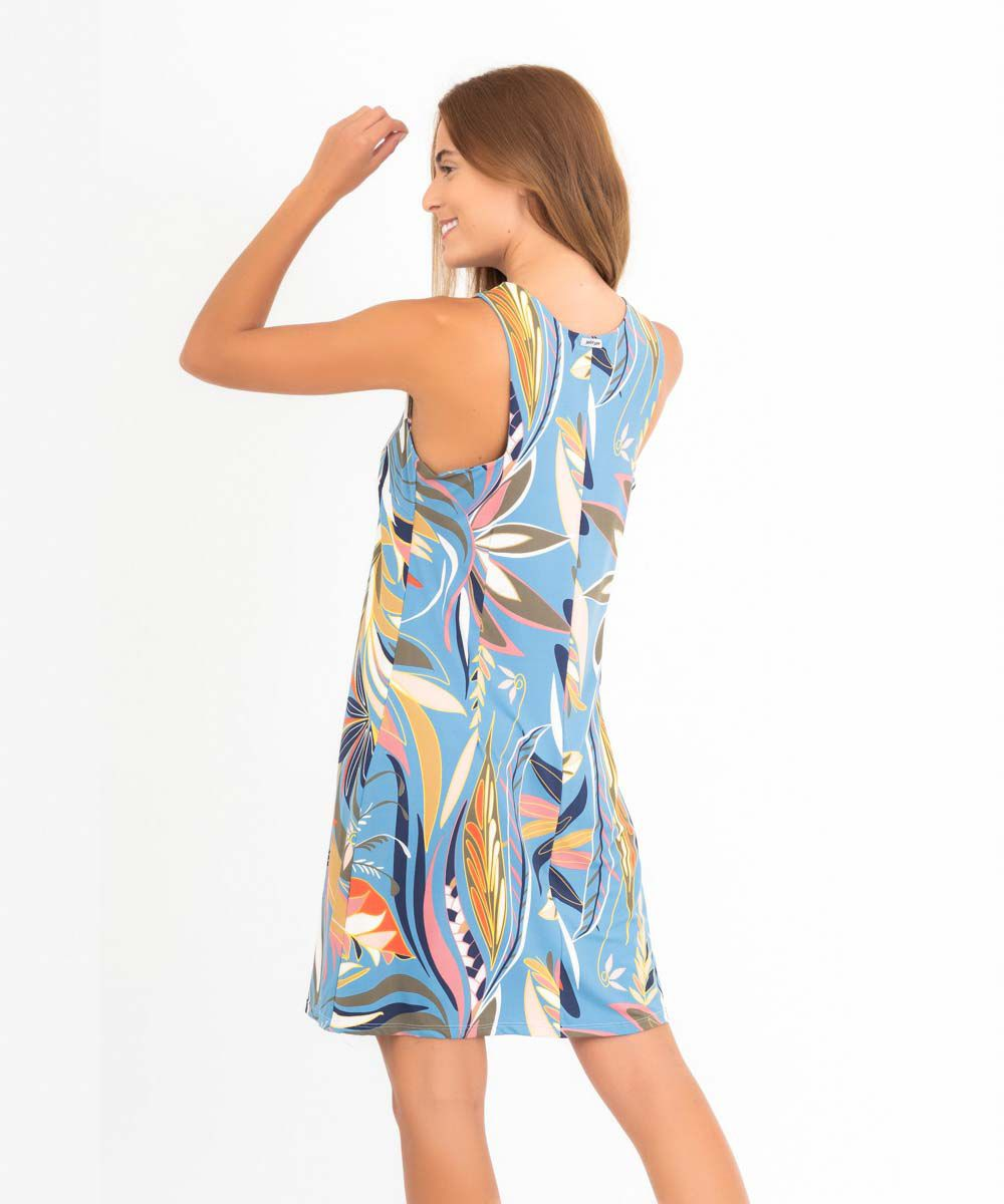 Vestido Clarice - Tropicana  - Lalie Lalou