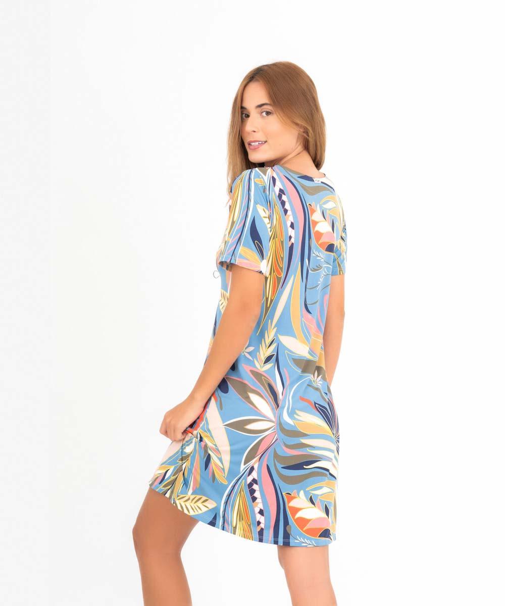Vestido Cléo -  Tropicana  - Lalie Lalou