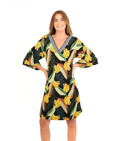 Vestido Erica - Banana Tropical