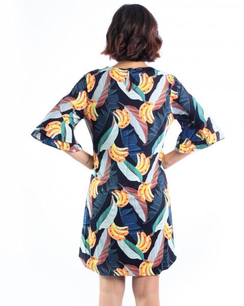 Vestido Erica - Banana Tropical  - Lalie Lalou