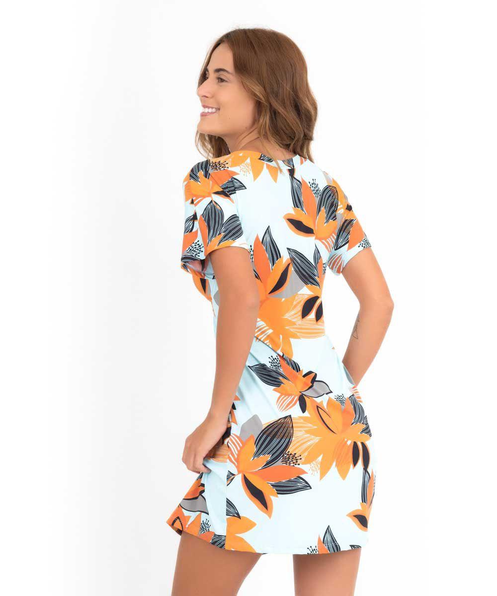 Vestido Japonesa Curto - Brisa   - Lalie Lalou