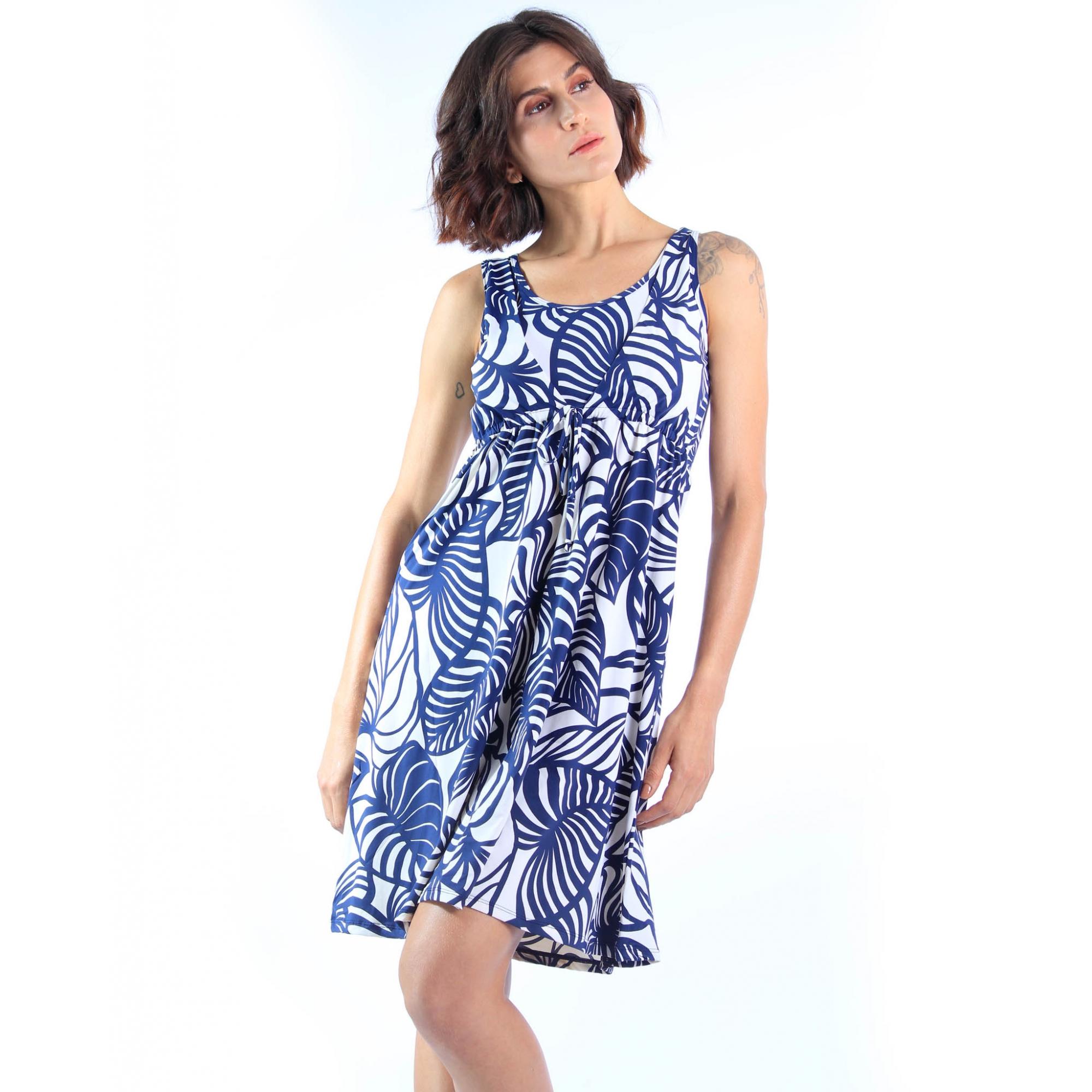 Vestido Mônica - Algas  - Lalie Lalou