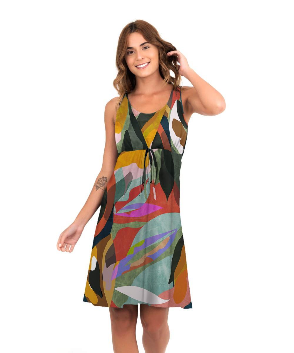Vestido Mônica - Arte Moderna