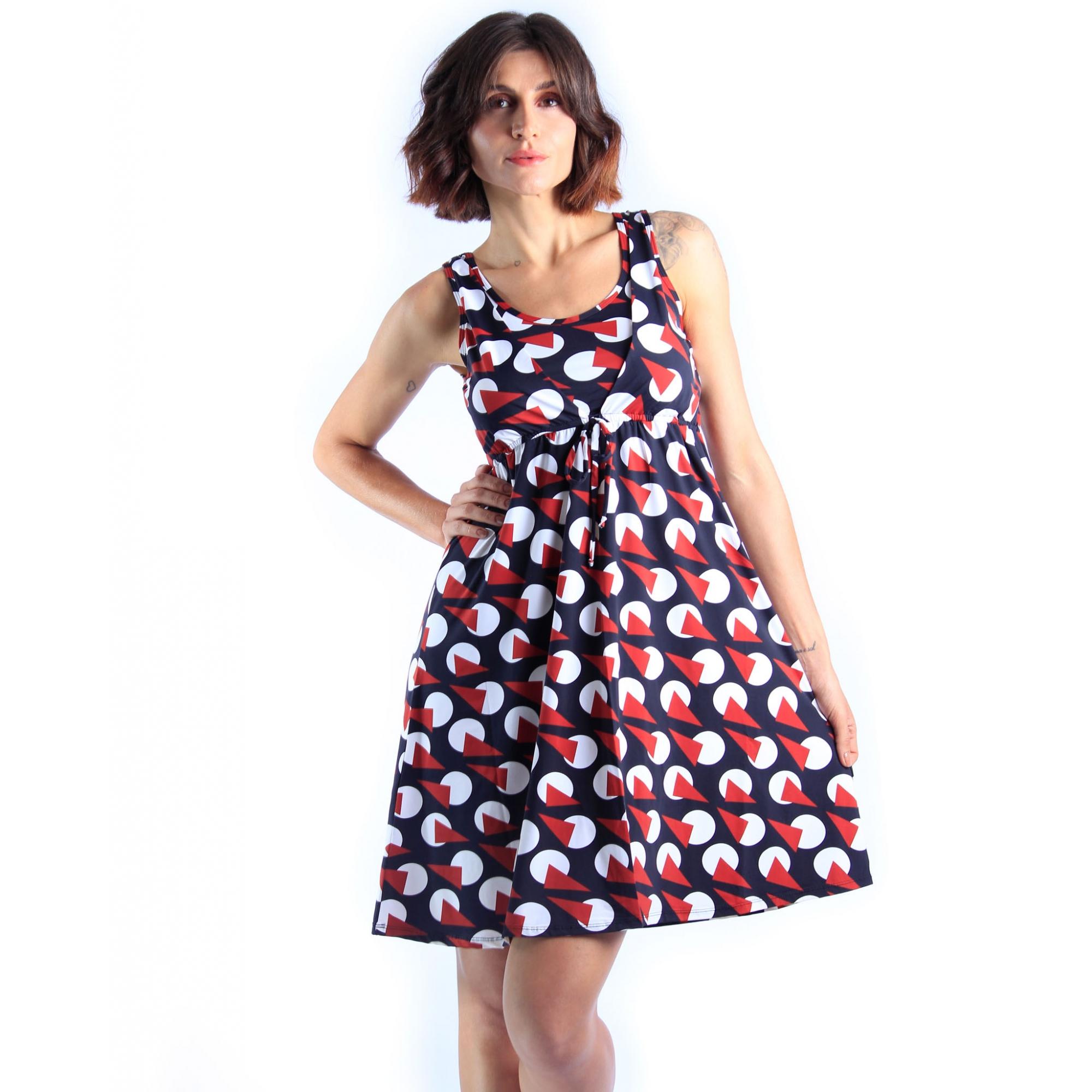 Vestido Mônica - Esquadros  - Lalie Lalou