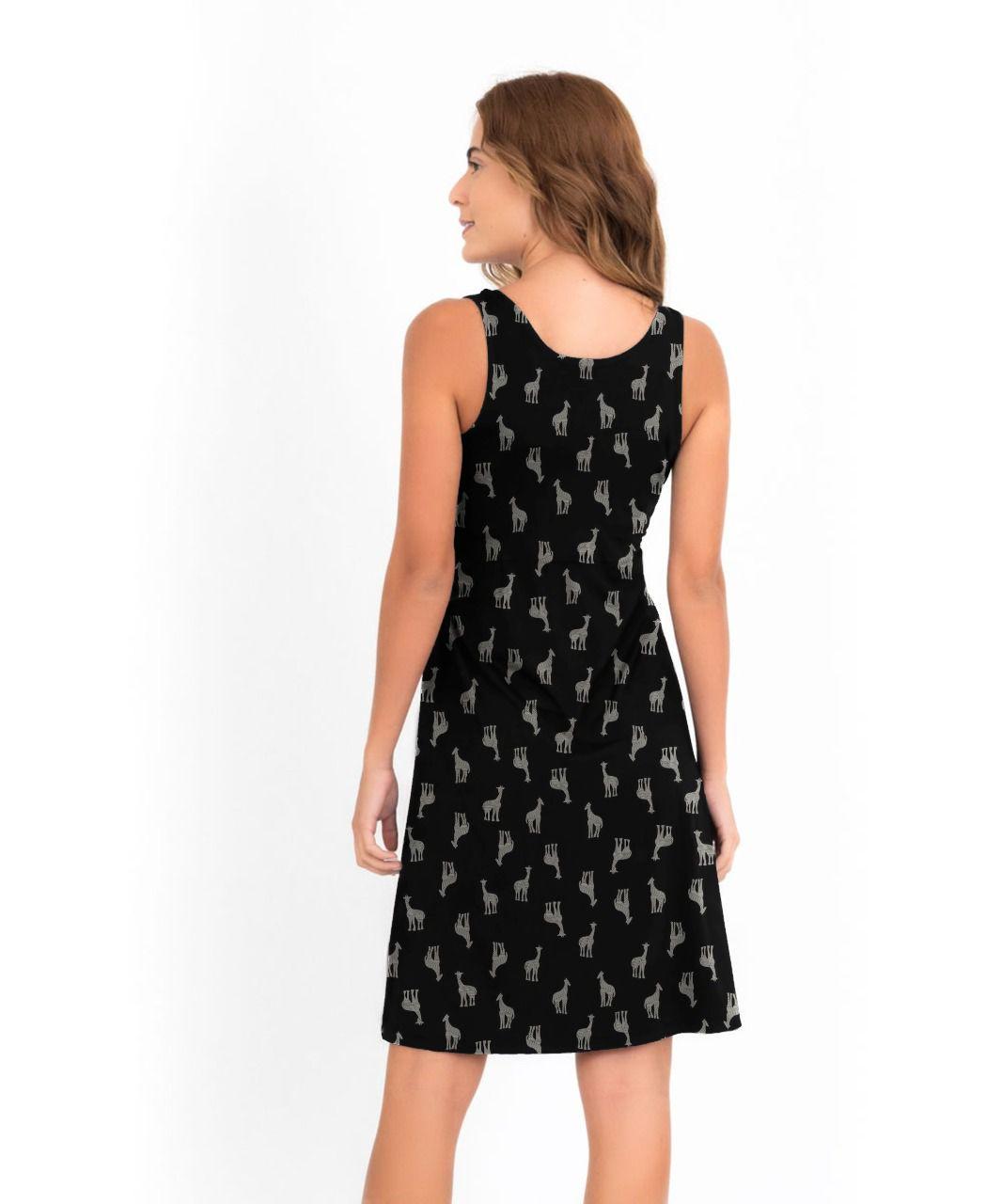 Vestido Mônica - Girafa   - Lalie Lalou