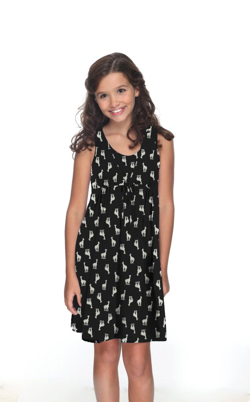 Vestido Mônica Infantil - Girafa