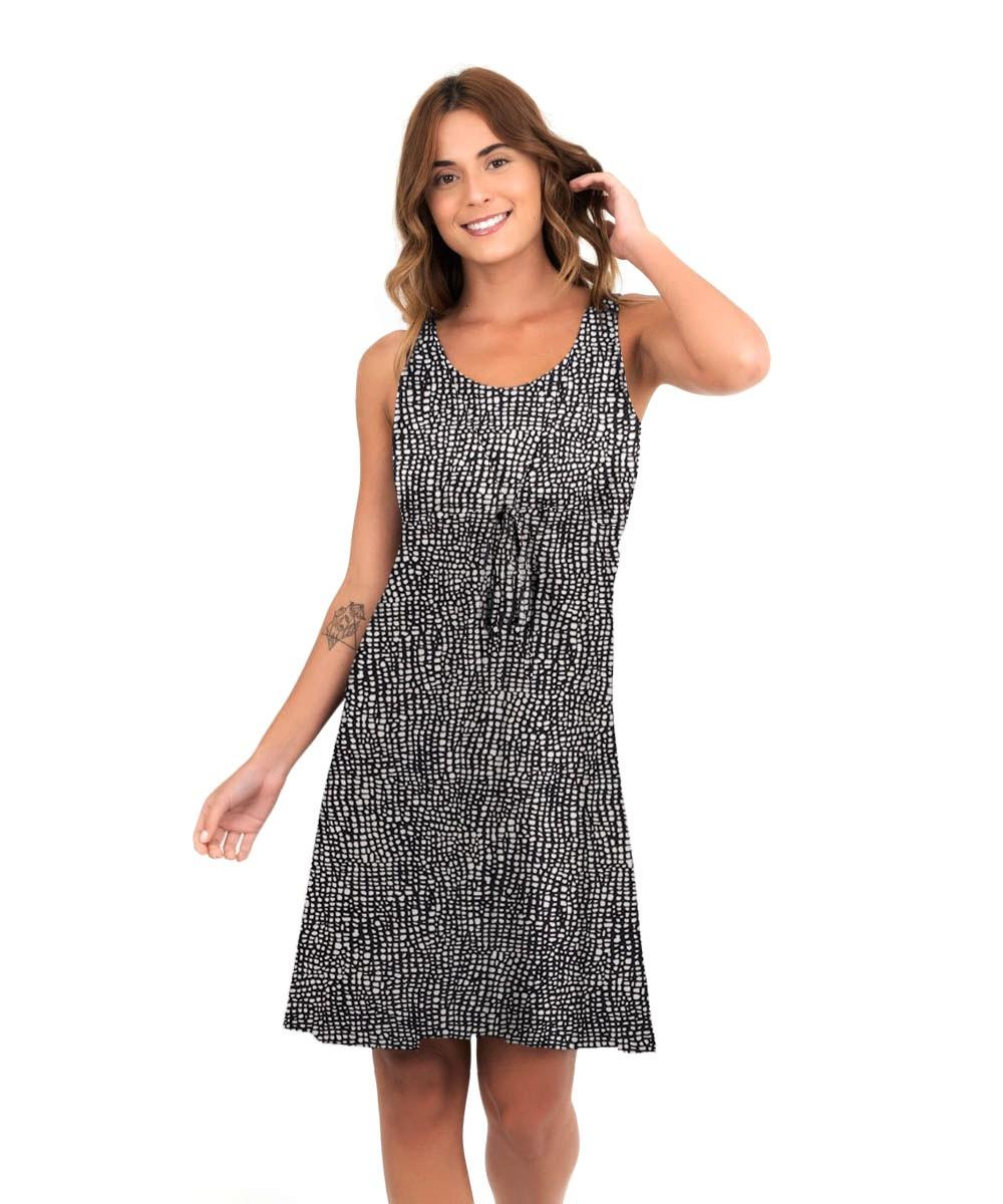 Vestido Mônica - Quadrados