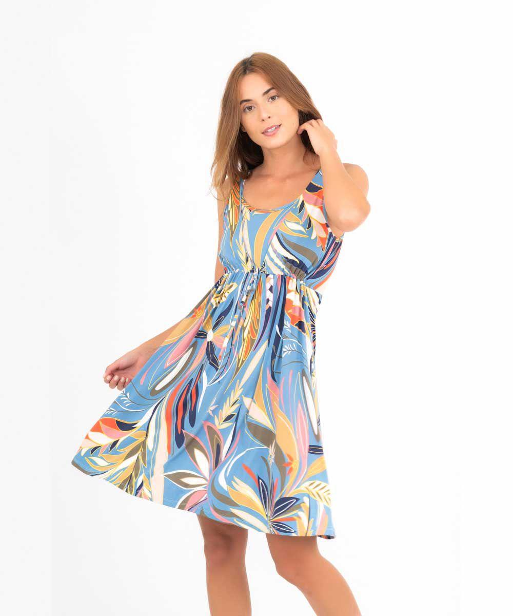 Vestido Mônica - Tropicana   - Lalie Lalou