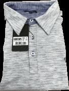 Camisa Gola Polo Olimpo Meia Malha Flamê